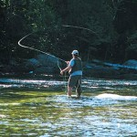 Fishing the Saco River