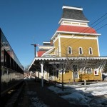 North Conway Village Train Station