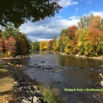 Saco River in North Conway NH