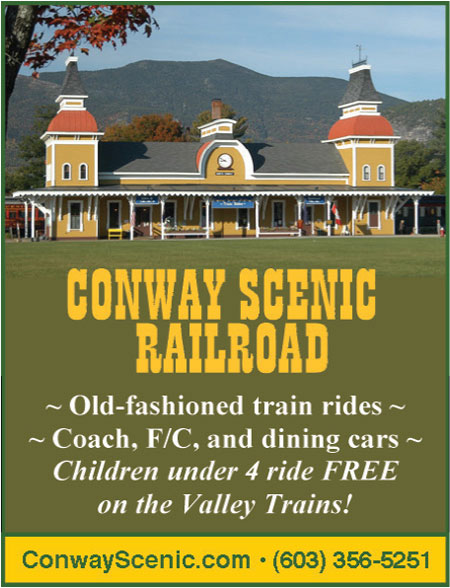 North Conway, NH Attractions - Conway Scenic Railroad