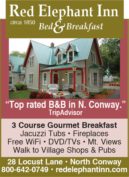 North Conway, NH Lodging - Red Elephant Inn