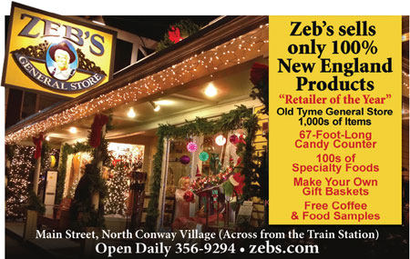 North Conway, NH Shopping - Zeb's General Store