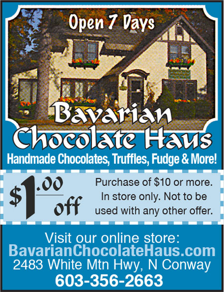 North Conway, NH Sweets - Bavarian Chocolate Haus