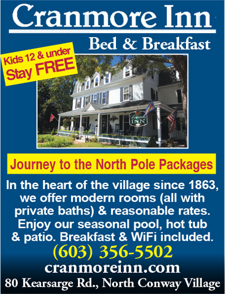 North Conway, NH Lodging - Cranmore Inn