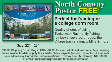 North Conway, NH Shopping - North Conway Poster