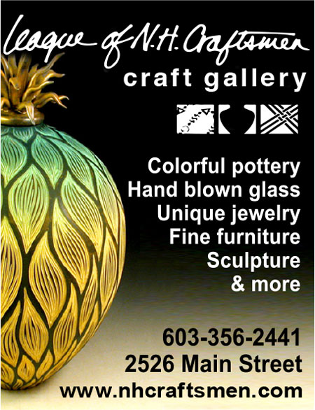 North Conway Shopping - League of NH Craftsmen