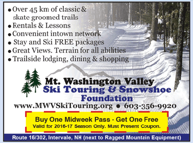 Mt. Washington Valley Ski and Snowshoe Touring