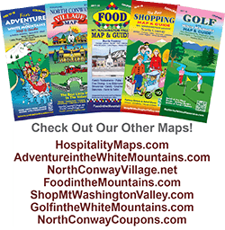 North Conway Village Shopping Maps