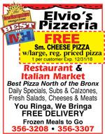 Elvio's Pizzeria & Italian Market
