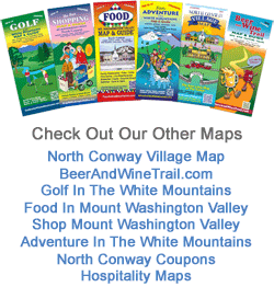 North Conway NH tourist maps