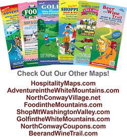 North Conway Village Maps