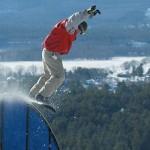 Mount Washington Valley Snowboarder