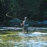 Fishing the Saco River