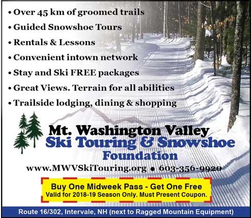 Mt. Washington Valley Ski and Snowshoe Touring